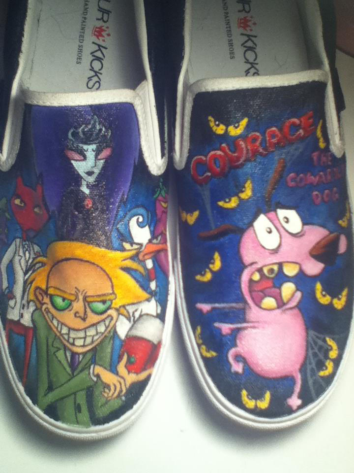 Courage The Cowardly Dog By Shoejunkiez On Deviantart