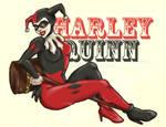Harley Quinn by ScarletMoonbeam
