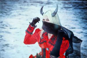 Snow Devil by elenasamko