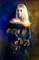 Golden Steampunk by elenasamko