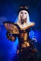 Steampunk girl by elenasamko