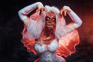 Zombie Bride by elenasamko