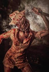 Nurse from Silent Hill by elenasamko