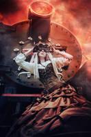 Steampunk Revolution by elenasamko