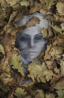 Somewhere under the oak leaves by elenasamko