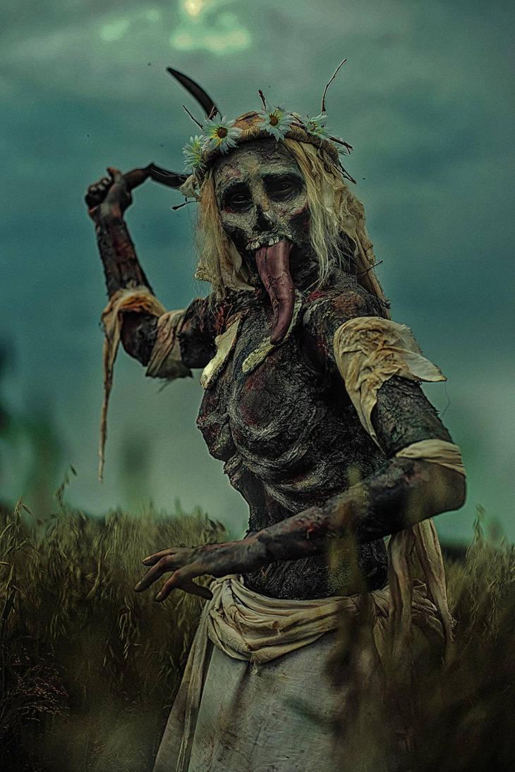 Noonwraith The Witcher 3 Cosplay by elenasamko