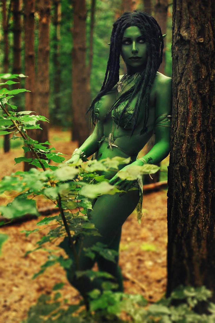 Morenn The Witcher Coslay by elenasamko
