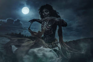 Nightwraith The Witcher 3 Cosplay by elenasamko