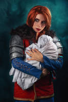 Cerys an Craite Cosplay by elenasamko