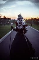 Gothic Skull by elenasamko