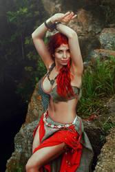 Red by elenasamko