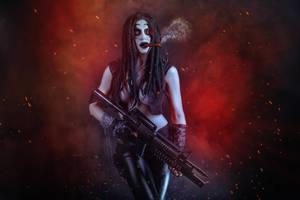 Lobo Female Cosplay by elenasamko