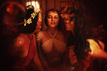 Succubi Witcher 3 Cosplay by elenasamko