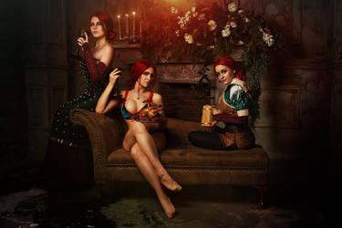 Triss Merigold cosplay by elenasamko