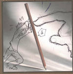 Cover: Battle of the Pencil by Evanescere