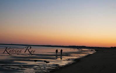 Sunset Walk by KRaySaulis