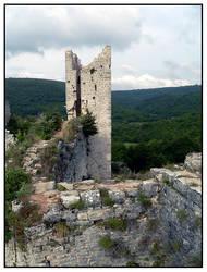 Dvigrad Ruins I by Xessex