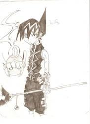 Shamen King Drawing by kokirininja