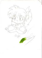 Shippo Drawing by kokirininja