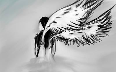 Mist Angel by Bleachheart