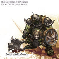 Orc warrior - 2nd Grade by reaper78