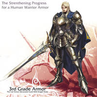 Human Warrior 3rd armor by reaper78