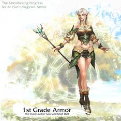 Elven Magician Armor 1st Grade by reaper78