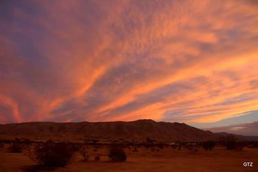 orange desert by MrGutierrez