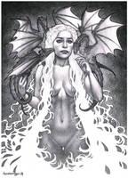 Khaleesi Commission finished! by Chiisa