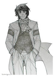 Arthur Conan design grises by Chiisa