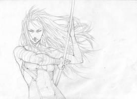 warra...digooo, Warrior by Chiisa