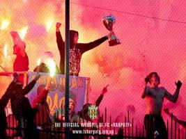 fckl karpaty lviv green white ultras by Torichelli