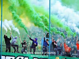 fckl karpaty lviv green white ultrasv by Torichelli