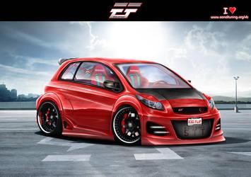 Toyota Yaris 2009 by EmreFast