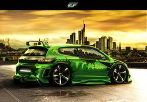 Volkswagen Scirocco by EmreFast