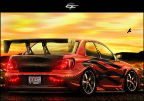Subaru Impreza WRX STI by EmreFast
