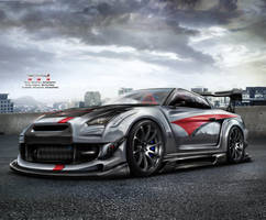 Nissan GTR R35 Team Turkey 2 by EmreFast