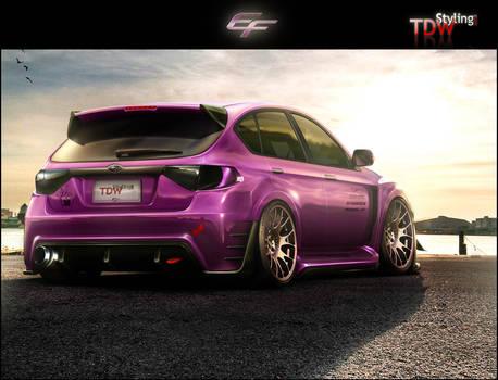 Subaru Impreza STI by EmreFast