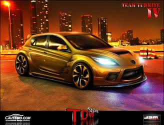 Mazda 3 MPS - WTBR2 2011 by EmreFast