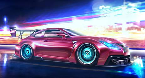 Lexus RC-F 2015 by EmreFast