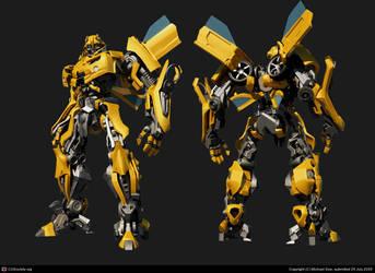 bumblebee_speed modeling by kerko