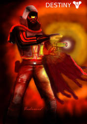 Hunter Gunslinger Destiny2 by icediamond7