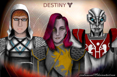 Destiny 2 - My Fireteam Part 2 by icediamond7