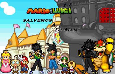 MyLsa Dt-Man nuevo boceto by dragonmax