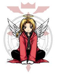 FMA :: Angelic Edward by waterlilly