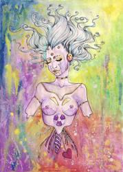 she-robot by Marie-Magdalene