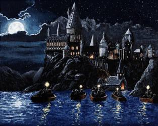 Hogwarts Castle by ThatPeskyNargle