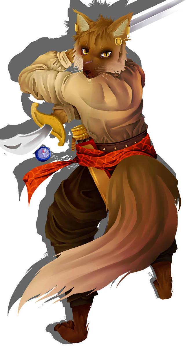 Kitsune Swashbuckler By Elillierose On Deviantart