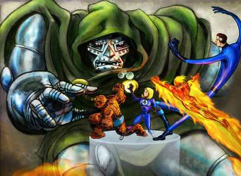 Doom's Playthings by superadaptoid