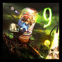 9 Gets Brained by superadaptoid